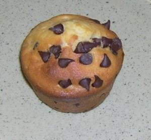 Muffin nuttela